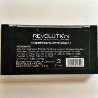 Ingrediente paletă Makeup Revolution Iconic 3