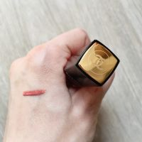 Chanel Rouge Allure Ink- swatch pentru nuanța 140 - AMOUREUX